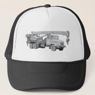 Crane Truck Trucker Hat