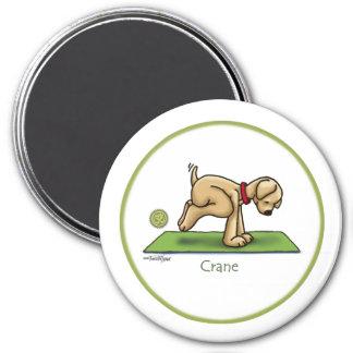 Crane - Yoga Magnet