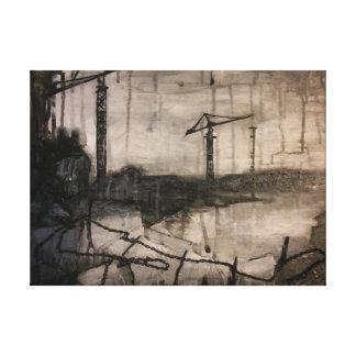 Cranes Canvas Prints