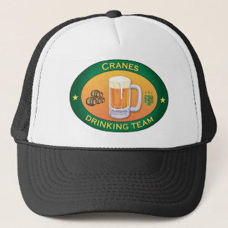 Cranes Drinking Team Trucker Hat