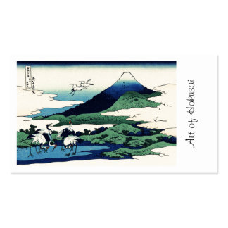 Cranes Fly Toward Mountain Pack Of Standard Business Cards