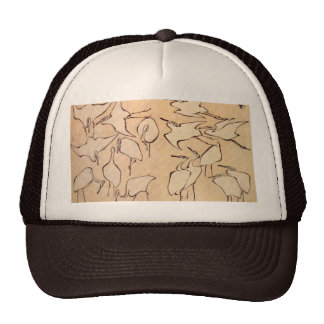 Cranes from Quick Lessons in Simplified Drawing Hats