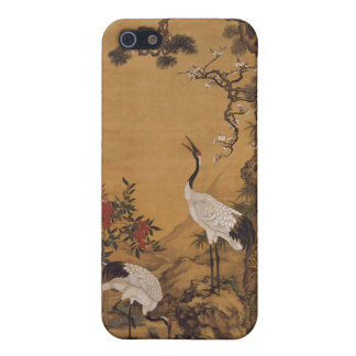Cranes Japanese Woodblock  iPhone 5/5S Case