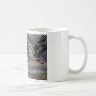 Cranes Coffee Mugs