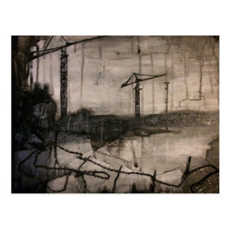 Cranes Postcard