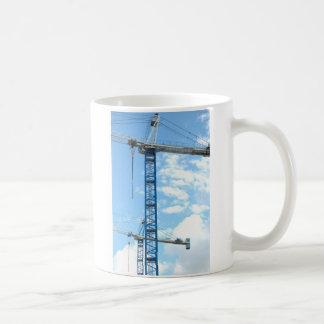 Cranes Stand in the Sky Coffee Mug