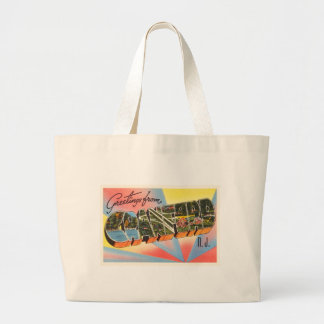 Cranford New Jersey NJ Vintage Travel Postcard- Jumbo Tote Bag