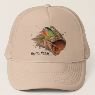 Crankbait Bass Trucker Hat