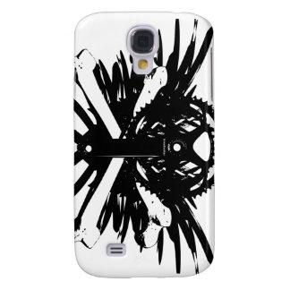 Crankset and Crossbones - black Galaxy S4 Case