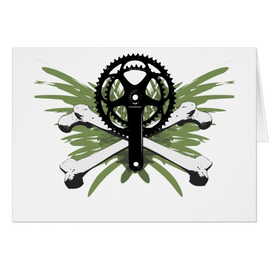 Crankset Bones - green Card