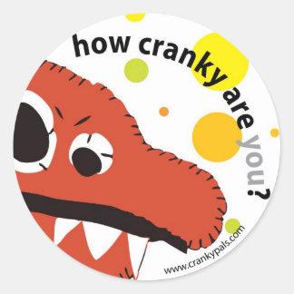 cranky pals sticker