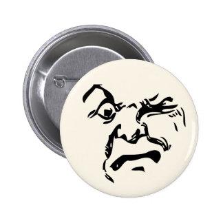 Cranky Vintage Moon 6 Cm Round Badge