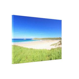Crantock Bay Canvas Print