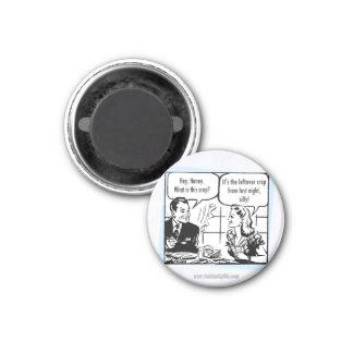 Crap... 3 Cm Round Magnet