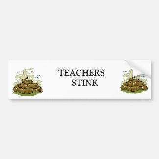 crap pile.jpg, crap pile.jpg, TEACHERS   STINK Bumper Sticker