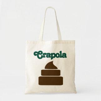 Crapola Tote Bag