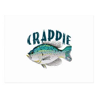 CRAPPIE FISH POSTCARD