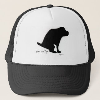 """Crapping on Cruelty"" Trucker Hat"