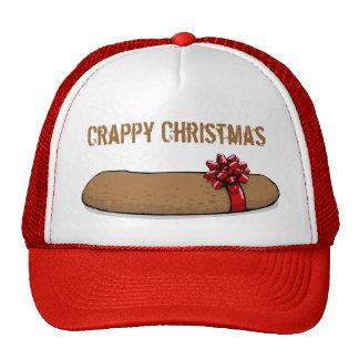 Crappy Christmas Poo Party Cap