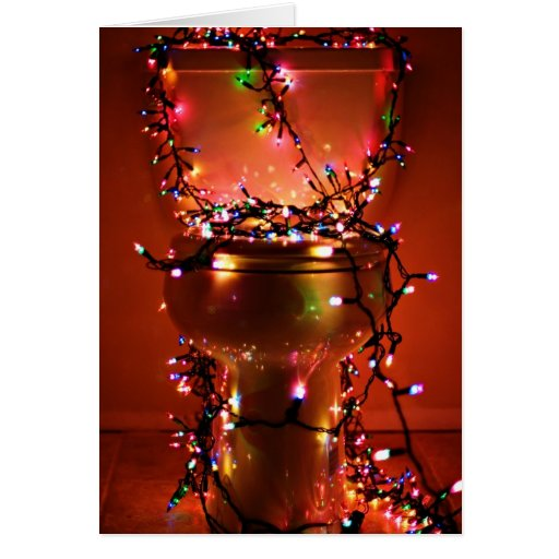 Crappy Holidays/Christmas Greeting Card