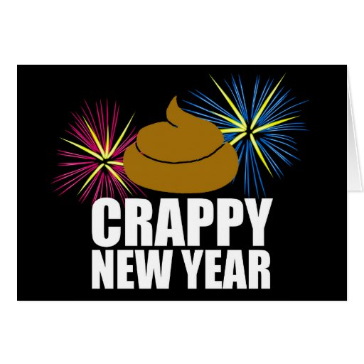 Crappy New Year Card