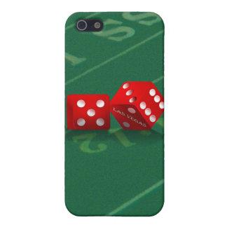 Craps Table With Las Vegas Dice iPhone 5/5S Case