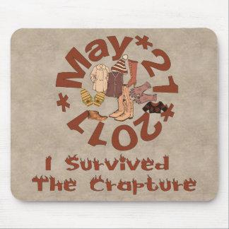 Crapture Survivor Mouse Pad