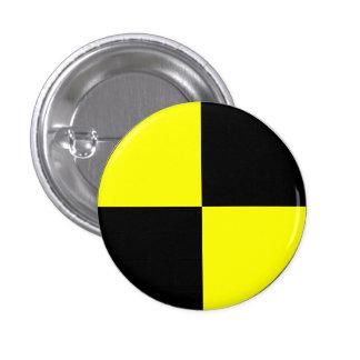 Crash Test Dummy 3 Cm Round Badge