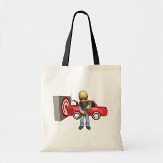 Crash Test Dummy Canvas Bag