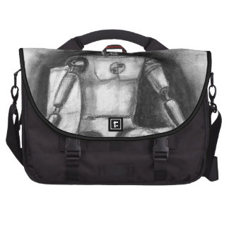Crash Test Dummy Laptop Shoulder Bag