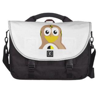 Crash Test Dummy Penguin Laptop Shoulder Bag