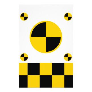 Crash Test Markers Custom Flyer