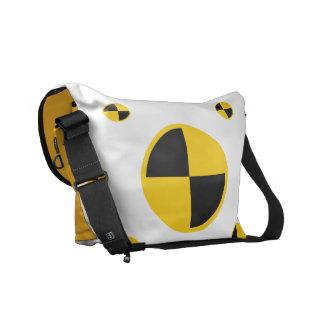 Crash Test Markers Graphics Messenger Bags