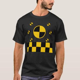 Crash Test Markers Graphics T-Shirt