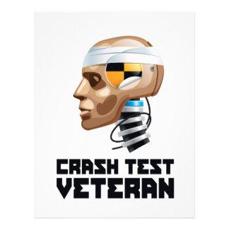 Crash Test Veteran Flyer Design