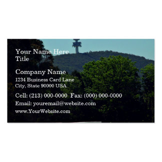 Crashed Communications tower Double-Sided Standard Business Cards (Pack Of 100)