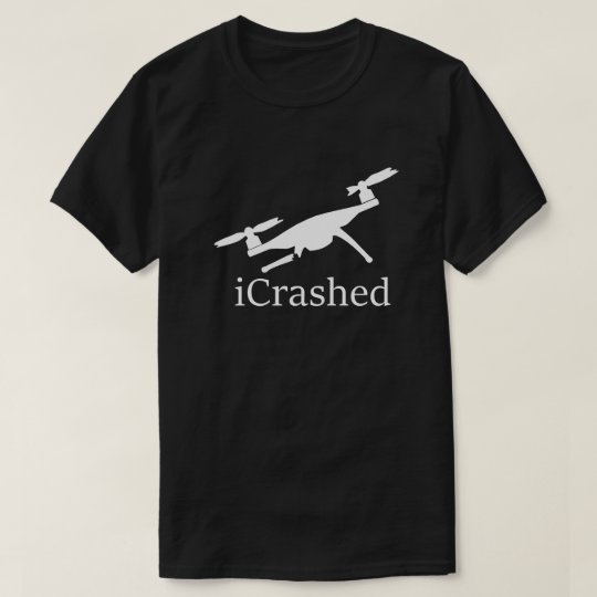 Crashed Drone Dark T-Shirt
