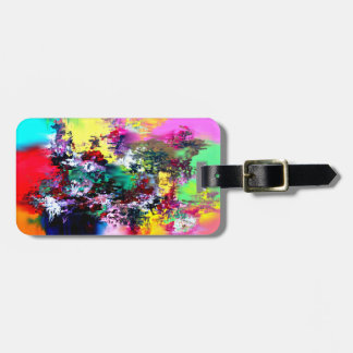 Crashing Colors Luggage Tag