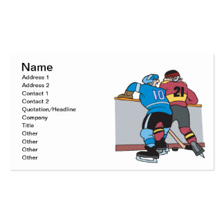 Crashing Into The Boards Double-Sided Standard Business Cards (Pack Of 100)