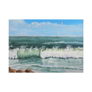 Crashing Wave Gallery Wrap Canvas