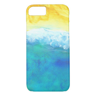 Crashing Waves Abstract Seascape Painting iPhone 7 Case