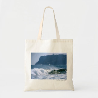 Crashing Waves Budget Tote Bag