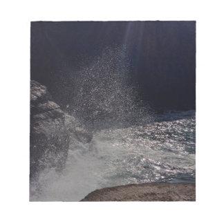 Crashing Waves Notepad