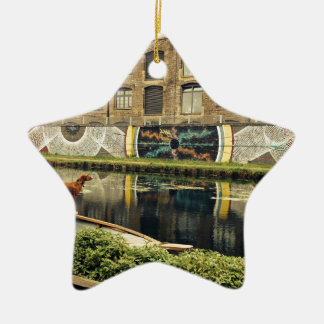 Crate Brewery Canal Side River Lea Christmas Ornament