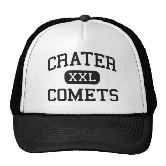 Crater - Comets - High - Central Point Oregon Mesh Hat