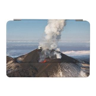 Crater eruption volcano: lava, gas, steam, ashes iPad mini cover