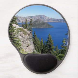 Crater Lake Gel Mouse Pad