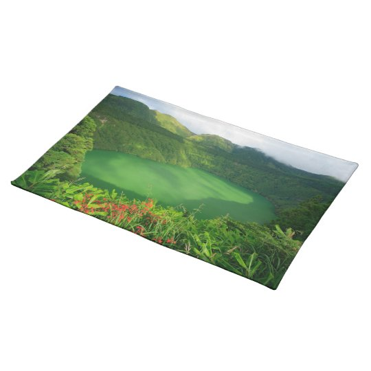Crater lake in Azores Placemat