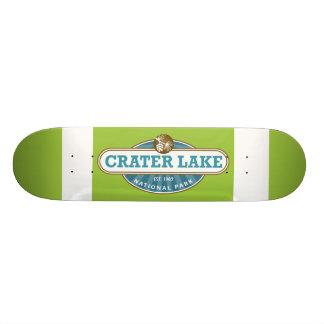 Crater Lake National Park 21.6 Cm Old School Skateboard Deck