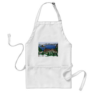 Crater Lake National Park Aprons